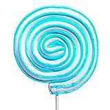 Jumbo Marshmallow Roller Pops - Blue: 12-Piece Box