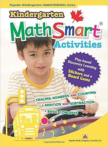 Kindergarten Mathsmart Activities Activity Book Popular Book