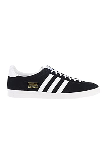 adidas gazelle nero leather uomo