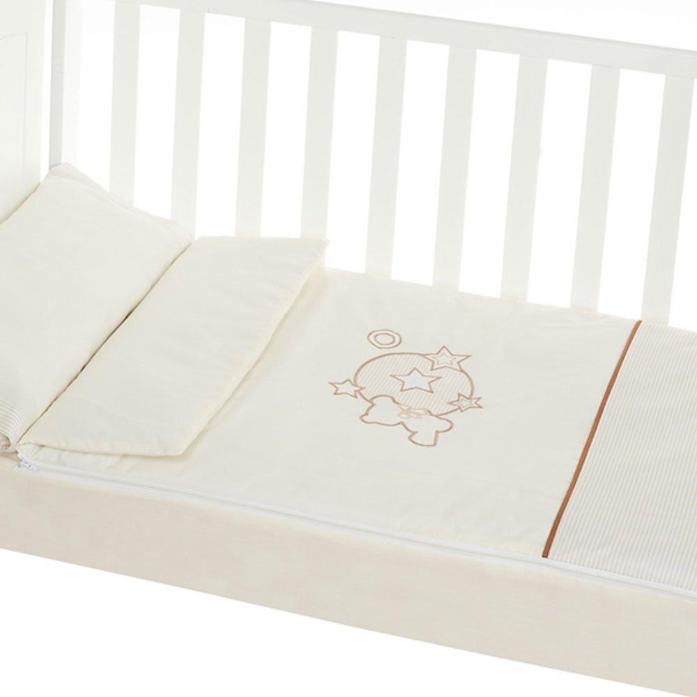 Saco nórdico desenfundable minicuna (50x80 cm) BOOM beige Bebelindo