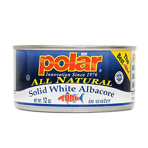 MW Polar Tuna, All Natural Solid White Albacore in Water, 12-Ounce (Pack of 12)