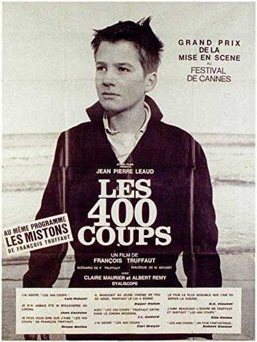 400 Blows Poster Movie Foreign C Francois Truffaut Jean-Pierre Leaud Claire Maurier