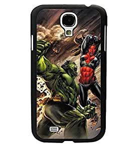 CooJedy Superhero DC Comics Hard Design Funda Case Cover for Samsung Galaxy S4 i9500 - She-Hulk