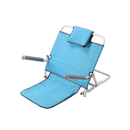 Loisirs silla de cama plegable ajustable respaldo cojín de ...