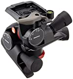 Manfrotto MHXPRO-3WG XPRO Geared Quick Release Head, Black