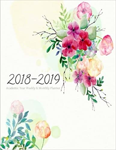2018 2019 Academic Year Weekly & Monthly Planner: Large Academic Calendar Planner (July 2018 To June 2019) Daily / Weekly / Monthly Organizer Planner. ... Student Homeschooling Planner) (Volume 5) by Amazon