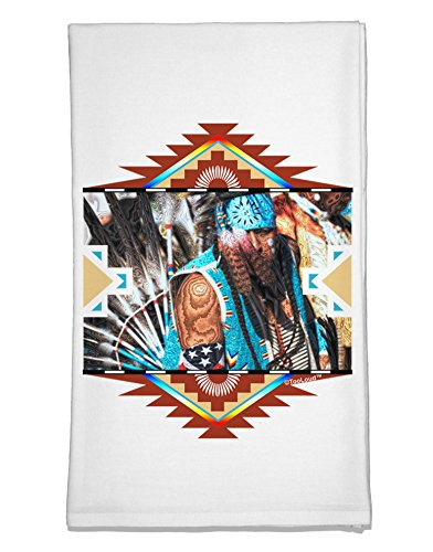 Dishes American Native (TooLoud Native American Dancer 2 Flour Sack Dish Towel)