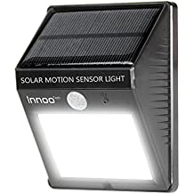 Innoo Tech Solar Motion Sensor Light Solar Powered Water Resistant Wireless Security 12 LEDs Bright Motion Sensor Light For Outdoor Wall Garden Lamp Patio Deck Yard Home Driveway Stairs