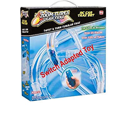 Car Trax Switch Adapted RC Tubes | Adaptive Toys | Special Needs Switch Toys | Switch Toys | Switch Adapted Toys: Toys & Games