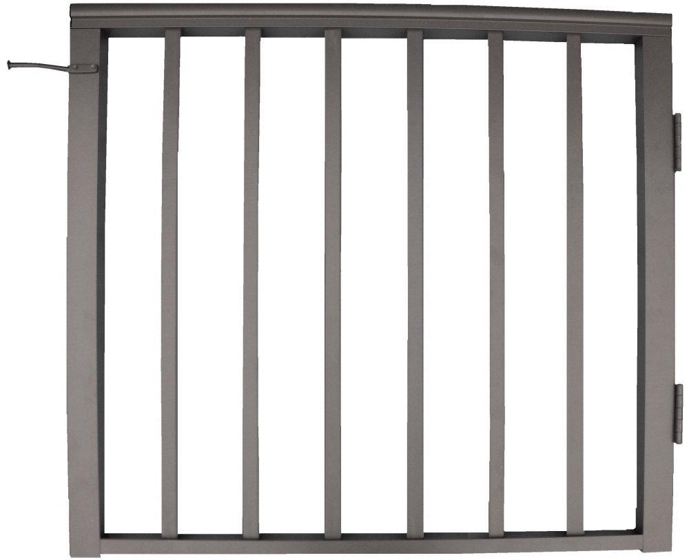 契約者デッキ手すり36 in x 36のアルミ住宅用ゲート – ブロンズ B005TLKMNA