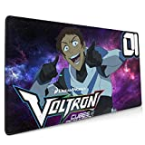 Voltron Cubes of Olkarion Mouse Pad 15.8x35.5 in Multipurpose Comfortable Waterproof Mousepad Desk Mat for Gamer Office Home
