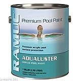 RAMUC AQ301101 Aqualuster Acrylic Pool Coating - Brilliant White - 1 Gallon