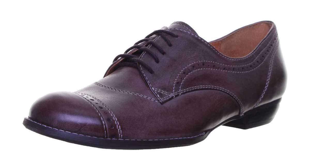 Justin Reece lacets Alina, Chaussures de ville Marron à de lacets pour femme Marron 91ddbc6 - shopssong.space