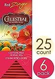 Celestial Seasonings Herbal Tea, Red Zinger, 25 Count (Pack of 6)