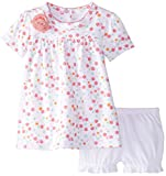 Baby : Blue Banana Baby-Girls Newborn Dress and Bloomer Set, Mini Flower, 09 Months