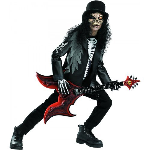 Cryptic Rocker Costumes (Cryptic Rocker Costume - Medium by Disguise)