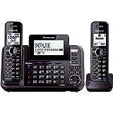 Panasonic KXTG9542B Dect_6.0 2-Handset 2-Line Landline Telephone