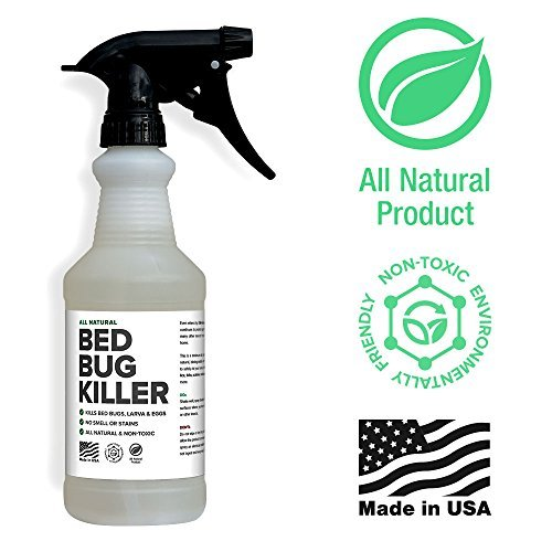 Bed Bug Spray By Killer Green - Best Non-Toxic All Natural Killer and Treatment of Bedbugs.(16 fl....