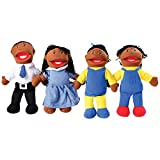Constructive Minds African American Puppet and Set for Imaginative Play