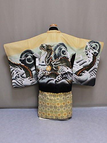 七五三着物 五歳男児ミニ 着物と袴のセット ちょっと小さめの五歳男児・七五三用着物セット D4458-07