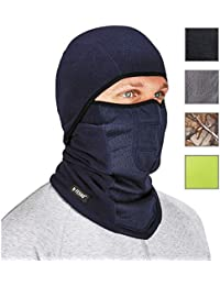 N-Ferno 6823 Balaclava Ski Mask, Wind-Resistant Face Mask, Hinged Design