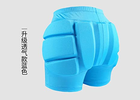 Hockey Pants Skateboarding Protective Gear Ski Safety Equipment Protective Gear Pants Easy to Wear Off Protect The Butt Childrens Skating WHJ@ Ski Protective Gear Pants