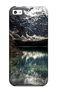Awesome EunrjMk13356KqbqQ JennaCWright Defender Tpu Hard Case Cover For Iphone 5c- Majestic Mountains