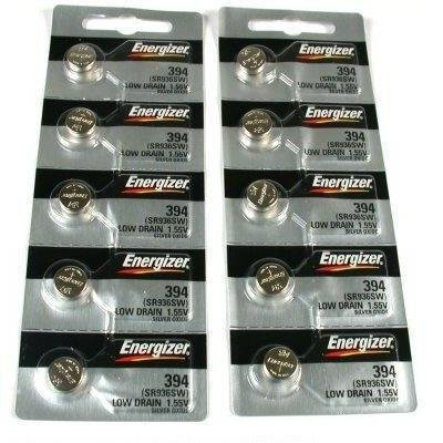10 394 / 380 Energizer Watch Batteries SR936W SR936SW
