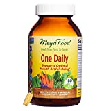 MegaFood – One Daily, Multivitamin Support for Immune and Nervous System Health, Energy Production, and Mood Balance with Folate and B Vitamins, Vegetarian, Gluten-Free, Non-GMO, 180 Tablets (FFP)