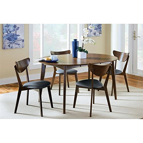 Coaster Home Furnishings Malone 5-Piece Oval Table Dining Se