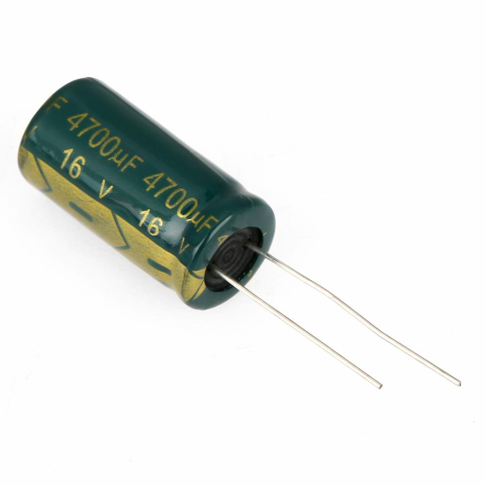 1Set Green Electrolytic Capacitor Kit assortito radiale 16-450V Range 100uf-10000uf per progetti elettronici Arduino 25V 1000uf 20Pcs