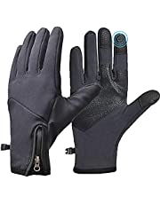 COTOP Fietshandschoenen voor mannen vrouwen, thermische waterdichte zachte handschoenen touchscreen handschoenen winter warme handschoenen volledige vinger sporthandschoenen voor fietsen, hardlopen, rijden, kamperen, wandelen, vissen