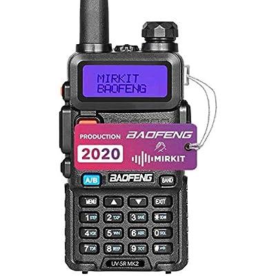 Baofeng Ham Radio UV-5R MK2 5W 1800 mAh Li-ion Battery Mirkit Edition and Lanyard Mirkit Ham Radio Operator: Electronics [5Bkhe0404604]