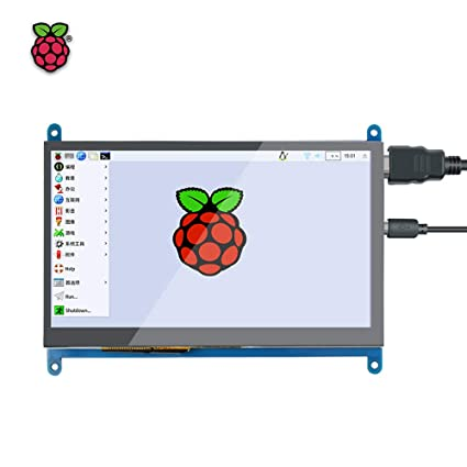 Leslaur Raspberry Pi Pantalla táctil capacitiva HD de 10 pulgadas ...