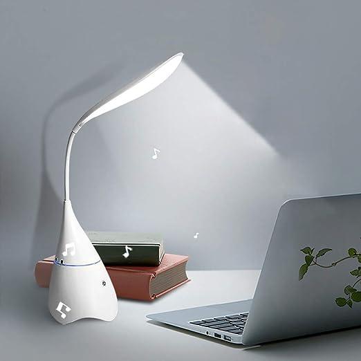 GJWHENS Altavoces Bluetooth, 2 en 1 [Goose lámpara de Escritorio ...