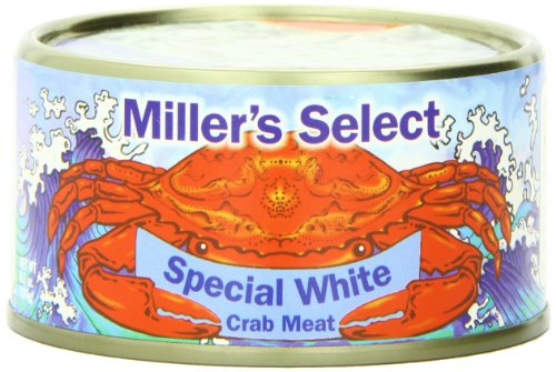 Miller's Select Special White Crab Meat, 6.5 Ounce