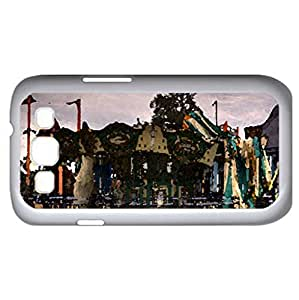 Abandoned Park (Amusement Parks Series) Watercolor style - Case Cover For Samsung Galaxy S3 i9300 (White)