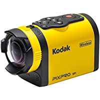 Kodak PIXPRO SP1 Digital Camcorder - 1.5 LCD - CMOS - Full HD - Yellow SP1-YL5