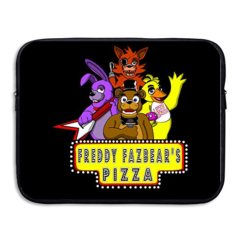 CYANY 5Nights At Freddy's FNaF Video Games Shock-Resistant Laptop Zipper  Cover Bag Size 13 Inch