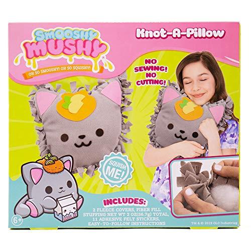 Smooshy Mushy Kaley Kitty Knot-A-Pillow by Horizon Group