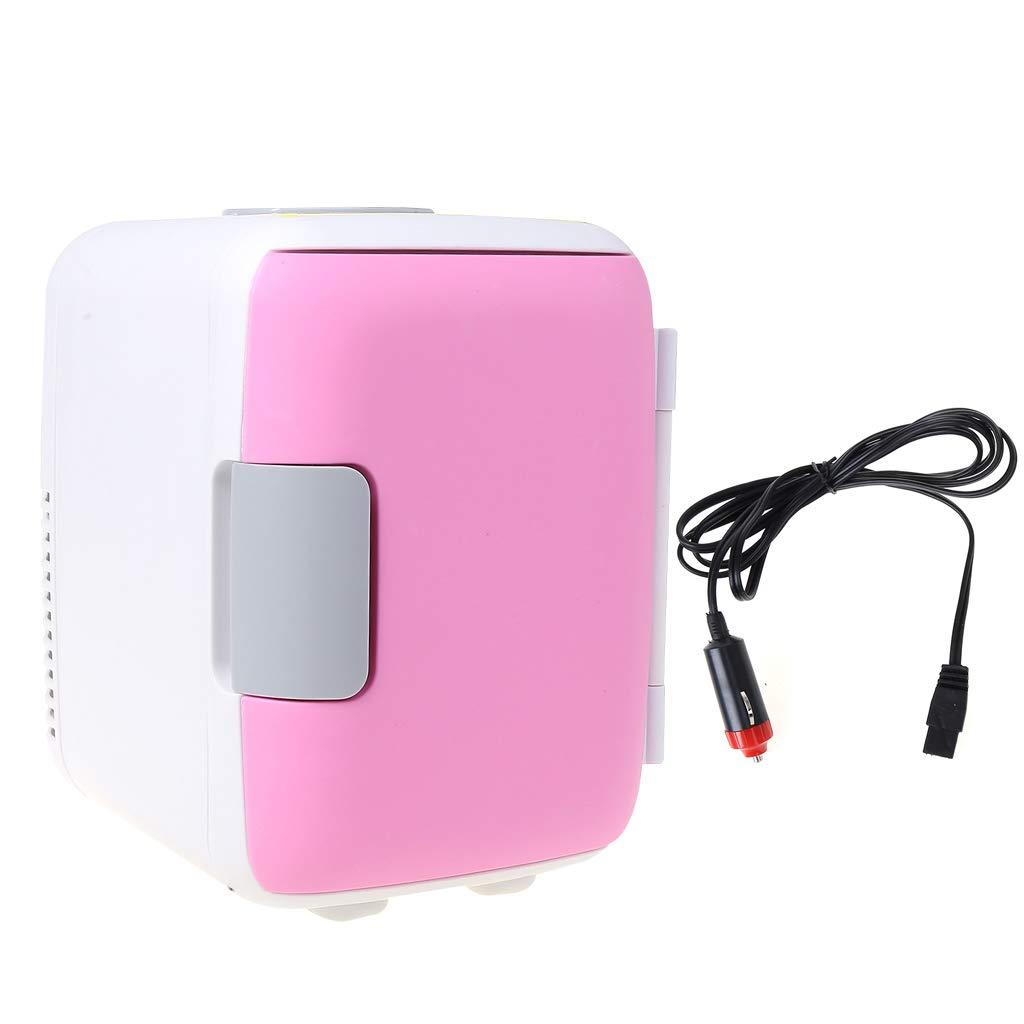Rhfemd Mini Fridge Ultra Electric Cooler Quiet Car Use Refrigerator Office RV Outdoor Freezer Cooling & Heating Box