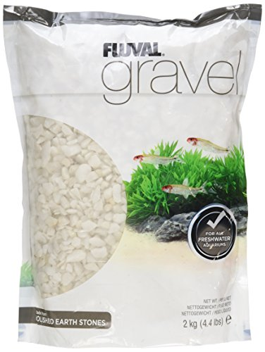 Fluval Polished Ivory Gravel for Aquarium, 4.4-Pound by Fluval