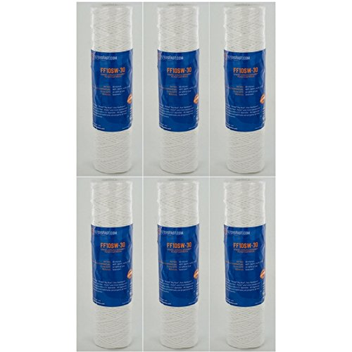 Pentek CW-MF Compatible Water Filter By Filters Fast - 6 Pack
