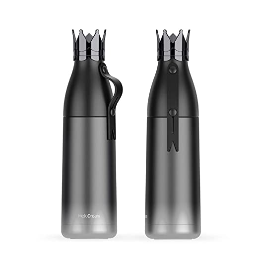 CQAZX 350 ml 304 Botella de Agua Caliente de Acero ...