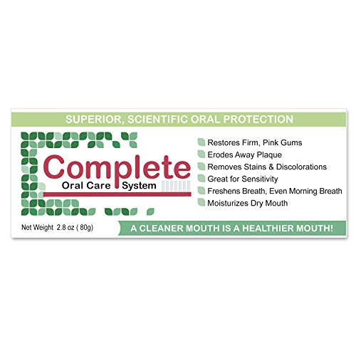 """Complete Oral Care System"" Featuring Periactil from Med-Actil - Super Xylitol Bonding - for Strong Teeth, Firm Pink Gums, Dry Mouth, Sensitivity, Stain Removal and Fresh Breath"