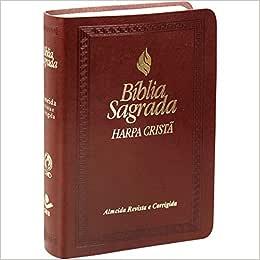 Bíblia Sagrada - Letra Maior com Fonte de Bençãos e Harpa Cristã
