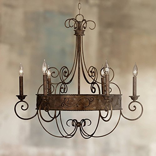 Rust Chandelier - Franklin Iron Works 30
