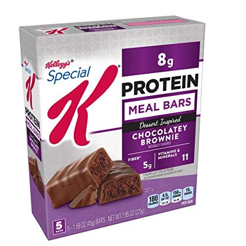 (Special K Protein Meal Bars, Chocolatey Brownie, 7.95 oz (5 Count)(Pack of 6) )