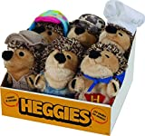 Petmate 53673 Heggies Dog Toy Countertop Tray (6 Pack), Multicolor