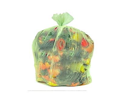 Bolsas compostables biodegradable para residuos orgánicos ...